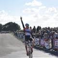 Arrivée de Flavian LE GUELLEC, victorieux chez les juniors