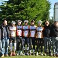 Photo de groupe avec les acteurs du TEAM CYCLO-CROSS AVENIR