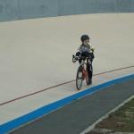 Guillaume de l\'AC Lanester 56 sur l\'anneau cycliste
