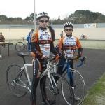 Les Minimes Brendan et Clement (AC Lanester 56)