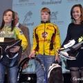 Julie Le Priellec, ici à droite, 3ème chez les minimes-cadettes