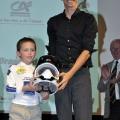 Warren Barguil était l\'un des intervenants d\'une conférence-débat en début de soirée et a remis les trophées aux lauréats
