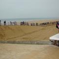 L\'épreuve se disputait sur la plage de St Jean-de-Monts