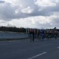 Romain GUILLOU est le plus rapide lors du sprint sur l\'arrivée du Grand Prix de Plouay