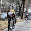 Le coach sur le vélo !