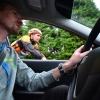 Jerome Beldent en voiture, Davy Le Ker a velo : les jeunes entraineurs de l\'ACL56 definissent ensemble les exercices