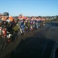 Passage à Guidel-Plage pour les coureurs !