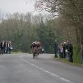 Arrivée : le Carhaisien COLLOBERT devance Pierre HOLE au sprint