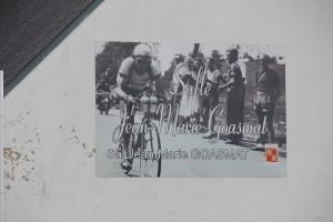 A l'occasion du centenaire de la naissance de Jean-Marie Goasmat surnommé le Farfadet, la salle polyvalente a été baptisée au nom de l'ancien champion ce dimanche 11 août 2013
