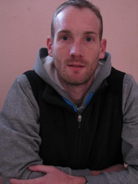 Jérôme Beldent, nouveau salarié à l'AC Lanester 56